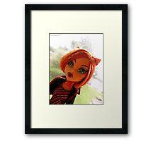 Toralei Stripe :) Framed Print