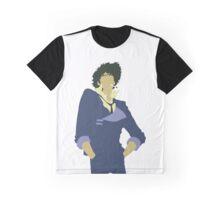 Minimalist Spike Graphic T-Shirt