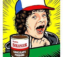 Stranger Pudding Photographic Print