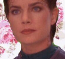 Floral Jadzia Dax  Sticker