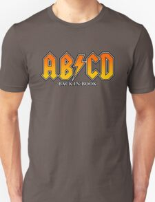 ABCD Back In Book Unisex T-Shirt