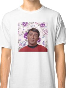 Floral Scotty Classic T-Shirt