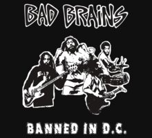 Bad Brains (Banned in D.C.) Kids Tee