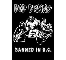 Bad Brains (Banned in D.C.) Photographic Print