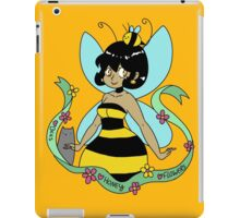 Bee Fairy and Cat iPad Case/Skin
