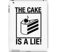Portal The Cake is a Lie  iPad Case/Skin