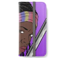 Michonne Pop Art iPhone Wallet/Case/Skin