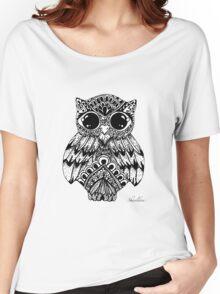 Mandala Owl Women's Relaxed Fit T-Shirt