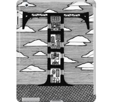 Letter T Architecture Section Alphabet iPad Case/Skin