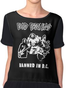 Bad Brains (Banned in D.C.) Chiffon Top