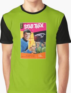 Gold Key Star Trek  Graphic T-Shirt