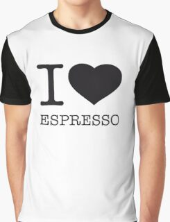 I ♥ ESPRESSO Graphic T-Shirt