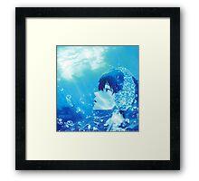 Summer Free! Haruka Nanase  Framed Print