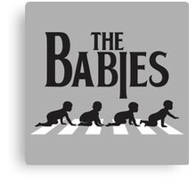 Babies Road Canvas Print