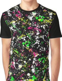 paint drop design - abstract spray paint drops 1 Graphic T-Shirt
