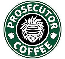 Prosecutor Coffee Photographic Print