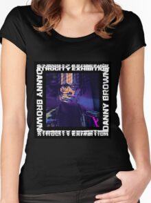 Danny Brown - Atrocity Exhibition  Women's Fitted Scoop T-Shirt