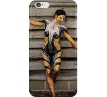 Badillo Preistess Shaman Queen Nymph of ebony, ivory and gold iPhone Case/Skin