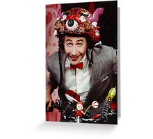 Pee Wee's Playhouse Greeting Card