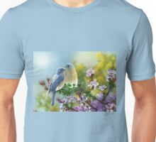 Sweet Bluebirds Unisex T-Shirt