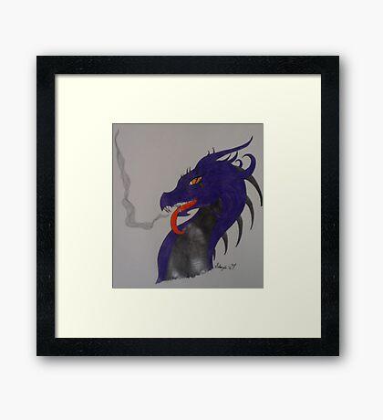 Poison Dragon Framed Print