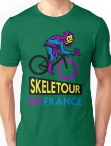 Cycling Skeletor Unisex T-Shirt
