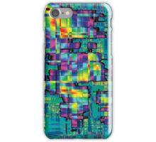 More Rainbow Blocky Stuff iPhone Case/Skin