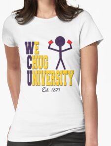 W(e)C(hug)University Womens Fitted T-Shirt