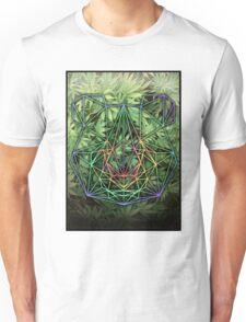 Geometric Panda Unisex T-Shirt