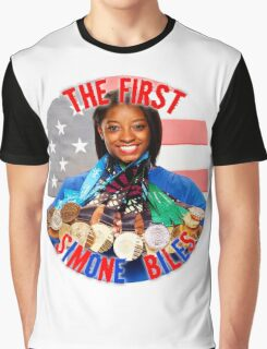 The FIRST Simone Biles Graphic T-Shirt
