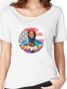 The FIRST Simone Biles Women's Relaxed Fit T-Shirt