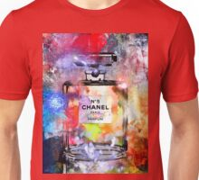 Perfume Bottle Painted Unisex T-Shirt