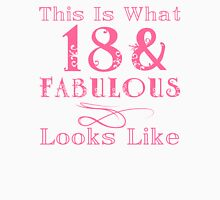 Fun Fabulous 18th Birthday Women's Relaxed Fit T-Shirt