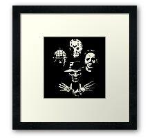 Horrorian Rhapsody Framed Print