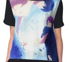 Free Male Mermaid  Chiffon Top