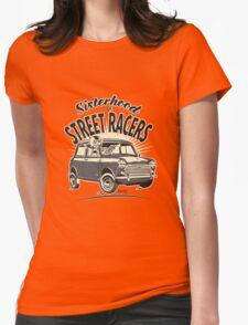'Mini' Sisterhood Of street Racers Womens Fitted T-Shirt