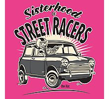 'Mini' Sisterhood Of street Racers Photographic Print
