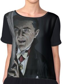 Dracula Chiffon Top