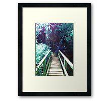 Bridge to Wonders Framed Print