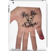 Pay Up Sucker -Jesse James iPad Case/Skin