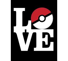 Pokemon Love Photographic Print