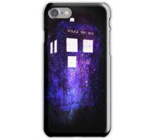 The Doctor's TARDIS iPhone Case/Skin