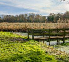 River Bure at Coltishall, Norfolk , UK Sticker