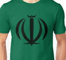 Iran Coat of Arms Unisex T-Shirt