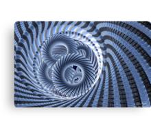 Magic Blue Whirl Canvas Print