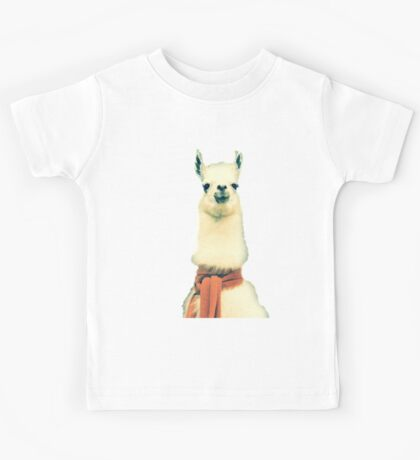 Creepy Alpaca  Kids Tee