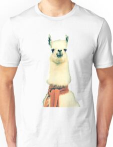 Creepy Alpaca  Unisex T-Shirt