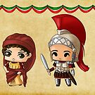 Chibi Ancient Romans by artwaste