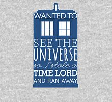 I stole a Time Lord Womens Fitted T-Shirt