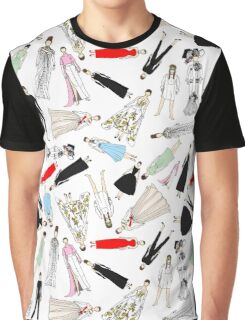 Audrey Scattered Graphic T-Shirt